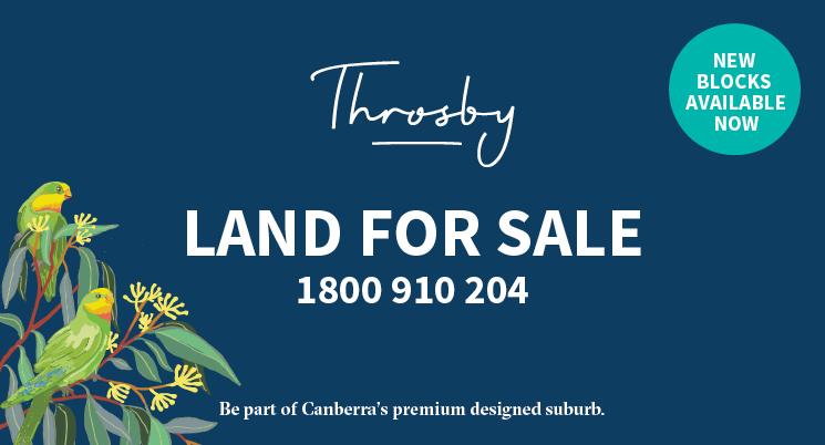Have you been waiting for the right block in Throsby?