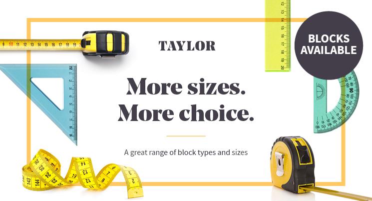 Get prepared – Blocks in Taylor coming soon