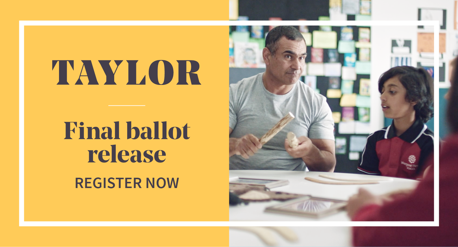 Choose the best block for you in Taylor's final ballot release