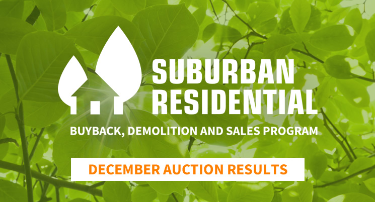 Suburban Residential - December Auction Results