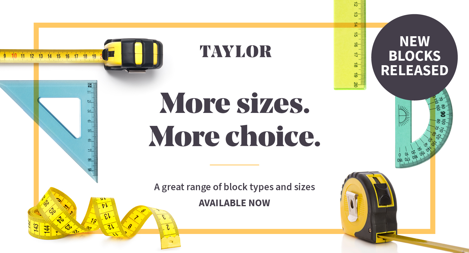 New blocks in Taylor - book an appointment today