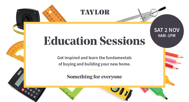 Taylor Education Sessions
