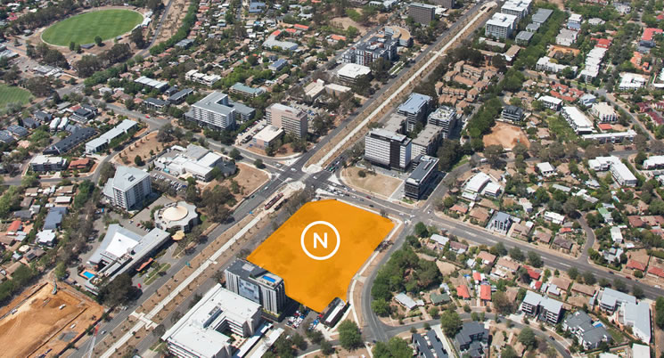 The biggest little block on Northbourne