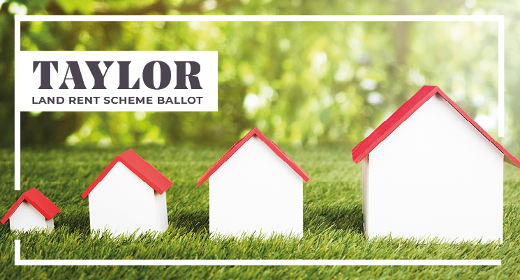 Taylor land rent ballot