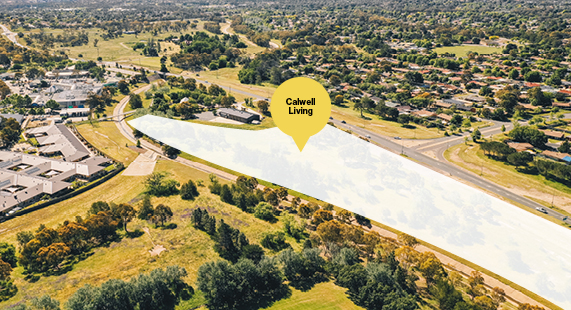 Sold - Calwell Living community site